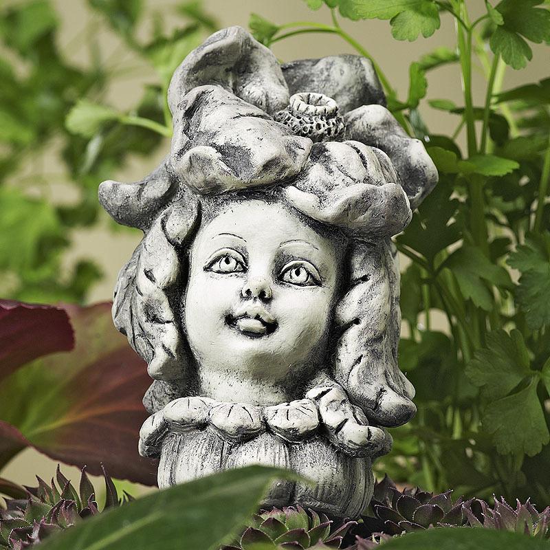 Blumenkind Aster Zauberblume Garten stecker 12 cm