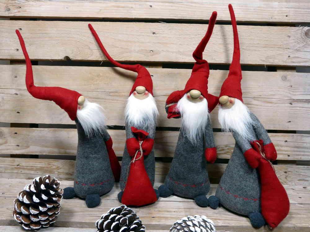 Wichtel Mit Sack 40cm Filzwichtel Weihnachten