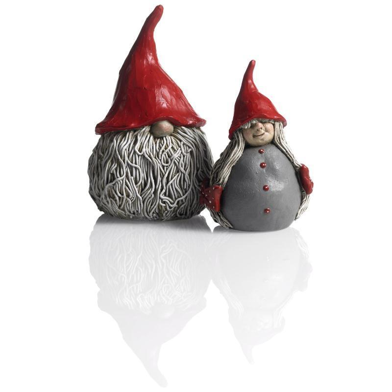 Santa Gertrud 6 cm Wichtel von Nääsgränsgarden Tomte