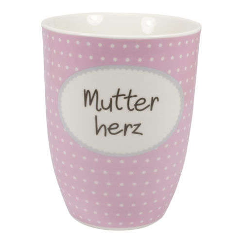 "MEA LIVING Tasse ""Mutterherz"" Henkelbecher 500ml"