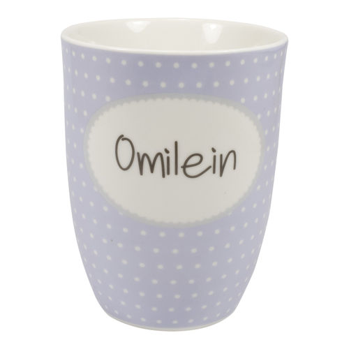 "MEA LIVING Tasse ""Omilein"" Henkelbecher 500ml"