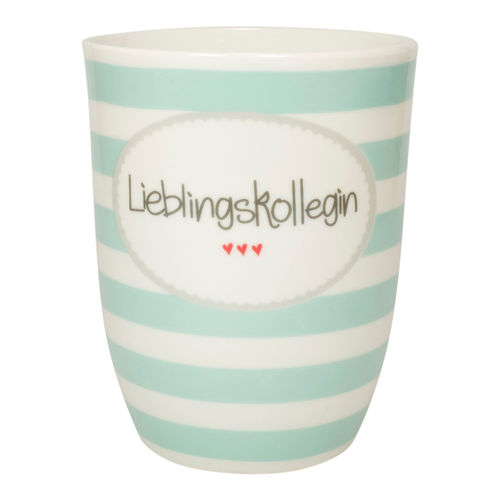 "MEA LIVING Tasse ""Lieblingskollegin"" Henkelbecher 500ml"